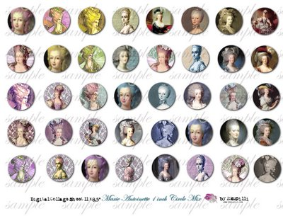 074 w Marie Antoinette 1 inch circle mix (400x305, 38Kb)