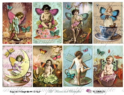273  w Lil' Fairies and butterflies (400x305, 59Kb)