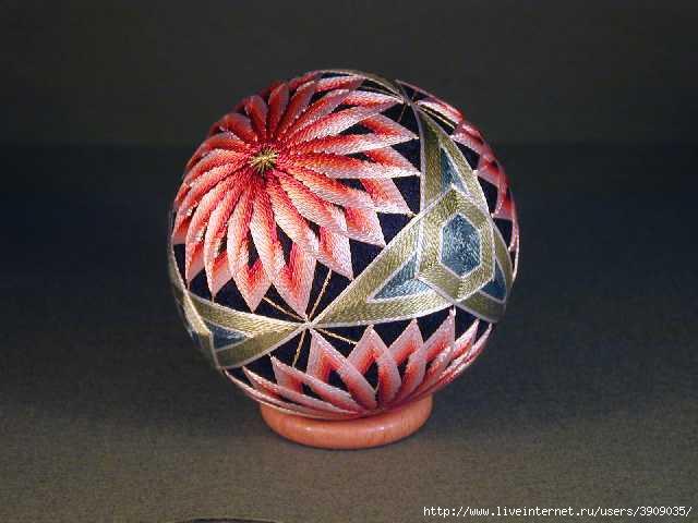 Мастер класс японских шаров