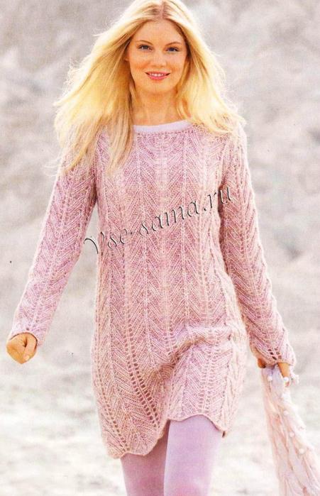 Dlinnyi-pulover-s-uzorom-iz-zigzagov-ris (451x700, 368Kb)