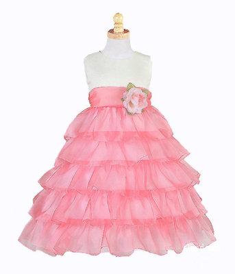Выкройки нарядных платьев для девочки.