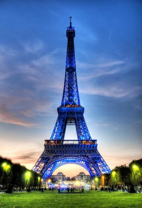 HDR эйфелева башня (476x700, 113Kb)
