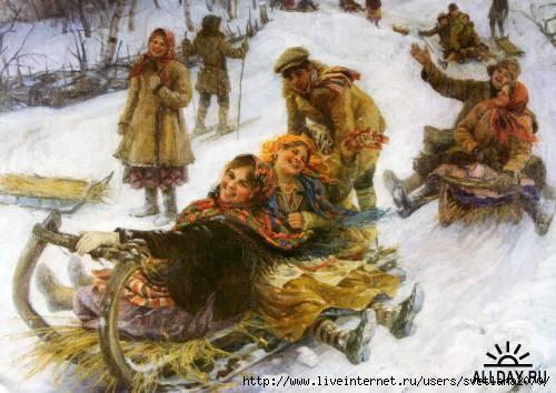русская деревня в живописи: