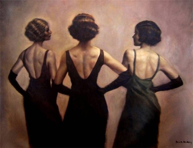 Hamish Blakely-женщины танго (640x450, 41Kb)