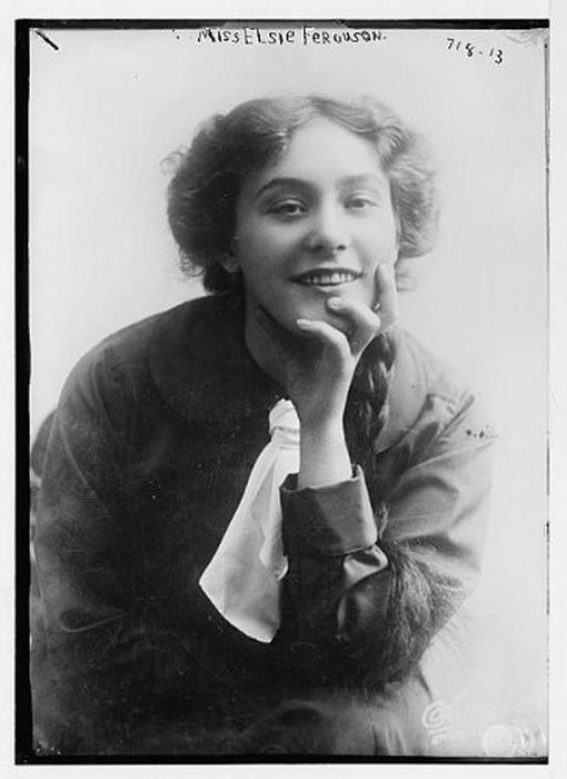 Miss Elsie Ferguson (510x700, 82Kb)
