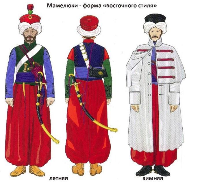 Униформа мамелюков униформа