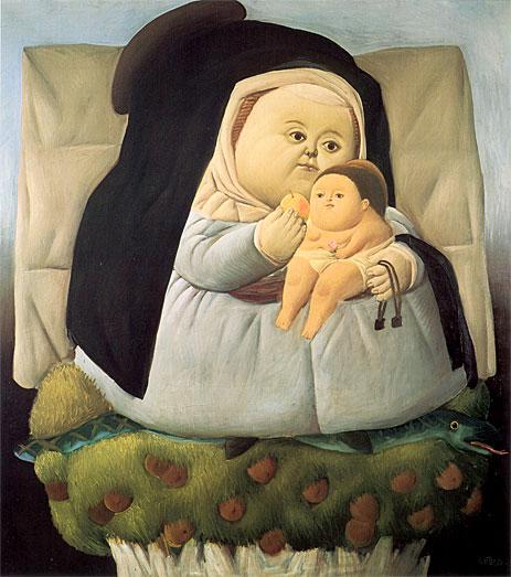 Fernando Botero.  3 (463x523, 69Kb)
