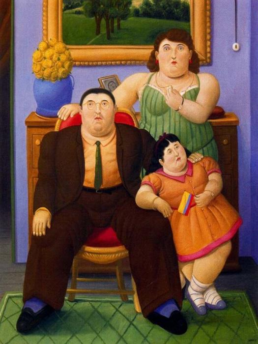 Fernando Botero.  5 (525x700, 396Kb)