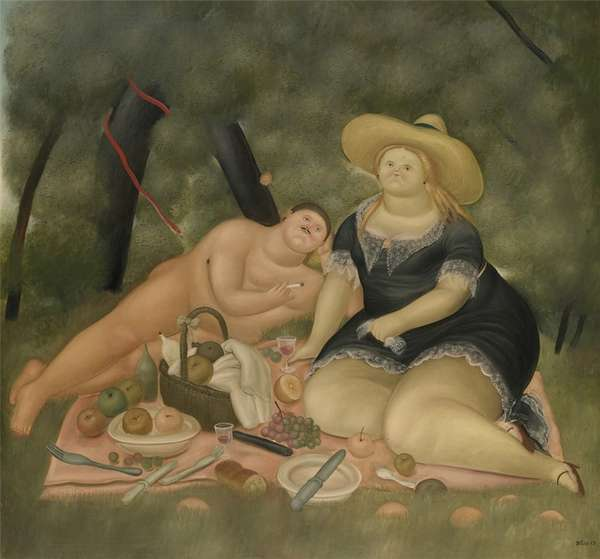 Fernando Botero.  34 (600x559, 27Kb)