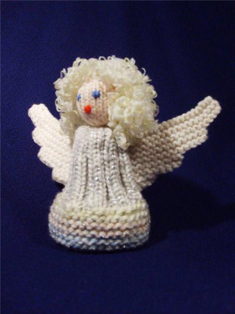 Вязаные ангелочки спицами своими руками
