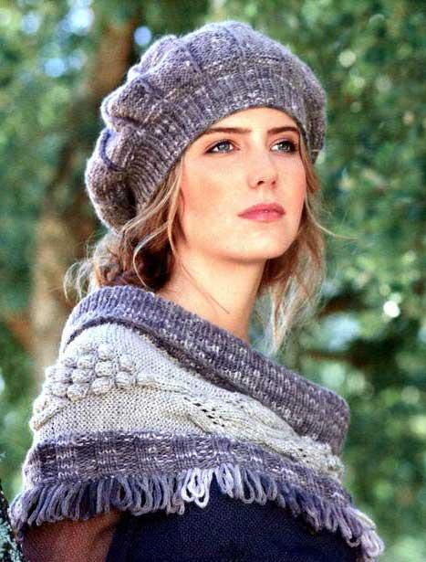 вязание спицами для женщин береты схемы - Сделай сам!