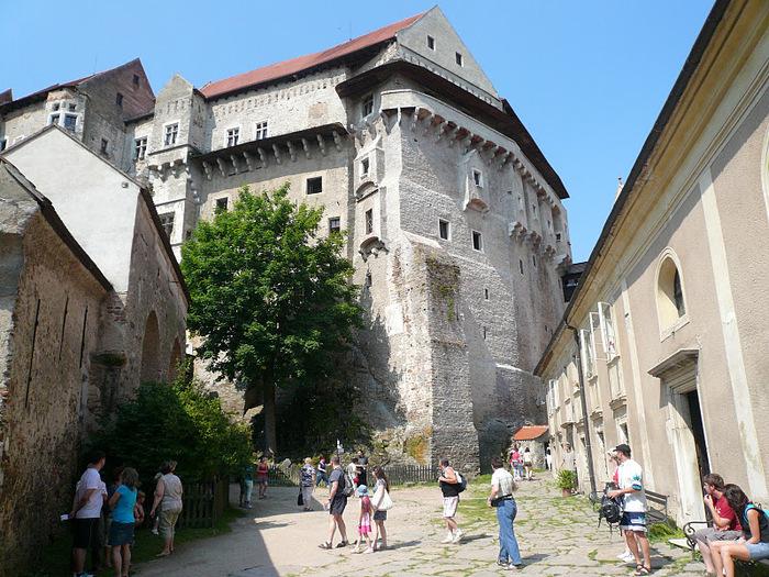 Чехия: Замок Пернштейн 10018