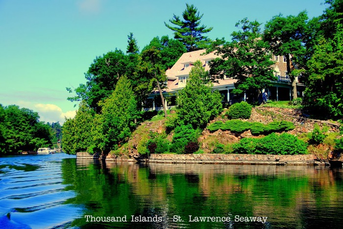 Парк Тысяча островов. (Thousand Islands) 95819