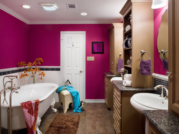 Hgtv bathroom remodels