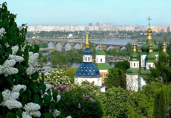 весенний Киев (595x413, 149Kb)