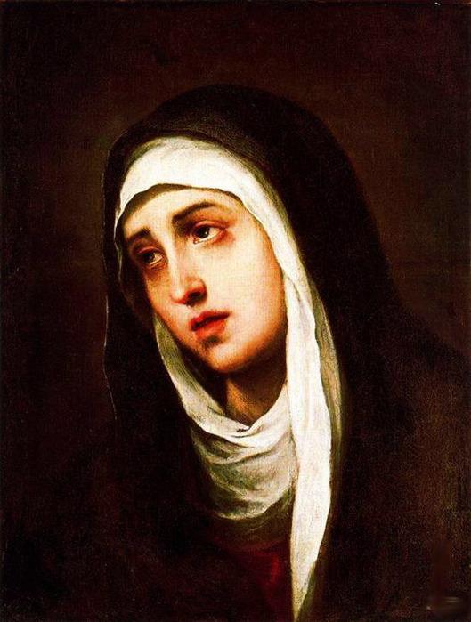 Мать скорбящая dolorosa 1660 1670 529x700 101kb