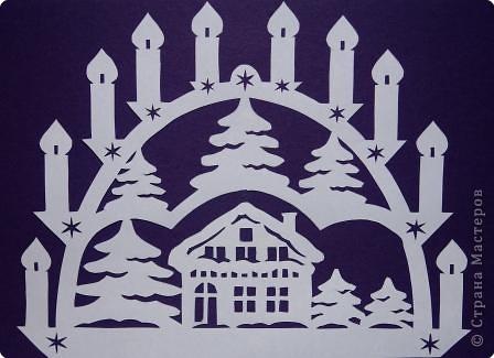 Звезда на елку мастер класс.  Часть...  Схемы новогодних подвесок.  Поделки из бумаги.
