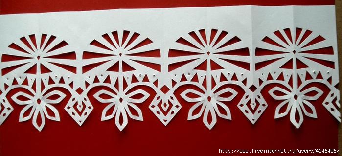 Новогодние украшения на окна из бумаги своими