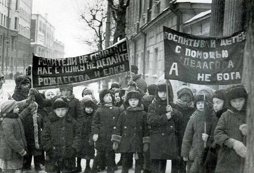 Воспитанники детских садов Бауманского района Москвы, 1929 (496x339, 87Kb)