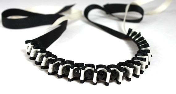 精美的珠子和缎带的珠宝首饰 - maomao - 我随心动