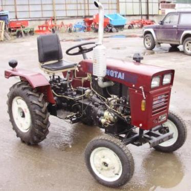 мини трактор Xingtai 120D (373x372, 28Kb)