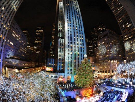 Новогодняя ель в Нью-Йорке 1 (520x393, 66Kb)