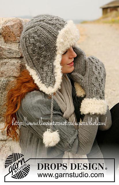 шапочка-ушанка и рукавицы / VFL.Ru - ваш личный фотохостинг.