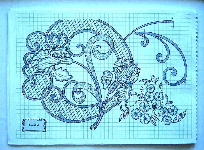 Схема вышивки вручную 29