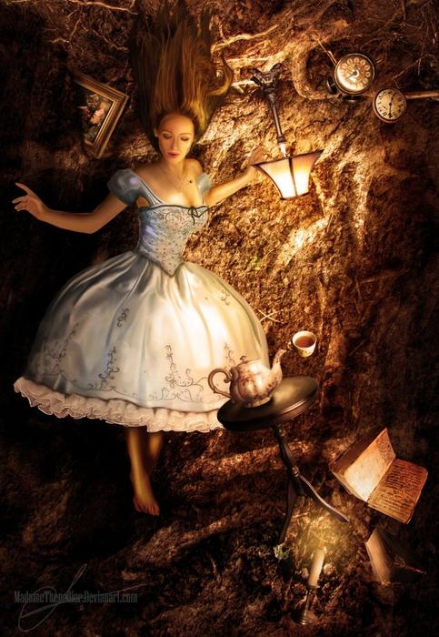 Alice__s_fall_by_MadameThenadier (483x700, 318Kb)