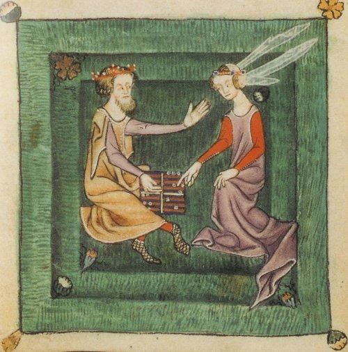 Лютрельский Псалтырь (1340 г.), Англия (500x507, 67Kb)