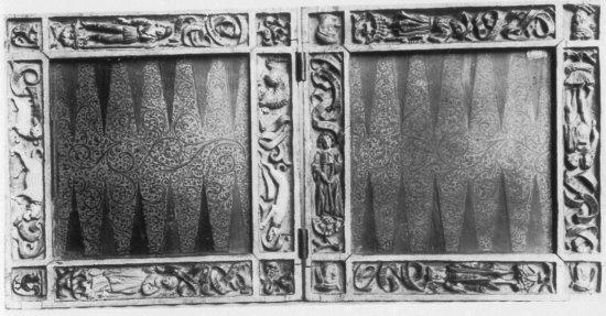 Поле для игры, 1475-1500, Мюнхен (550x287, 48Kb)