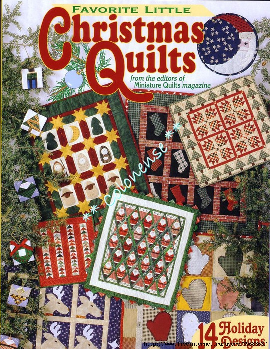 00Quilt - Christmas Quilts(1) (540x700, 440Kb)