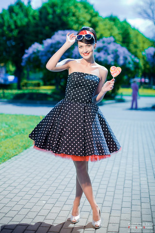 платья 2012-ретро стиль -Стиляги.