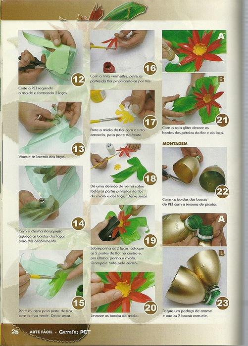 Поделки пластиковых бутылок своими руками пошаговая инструкция