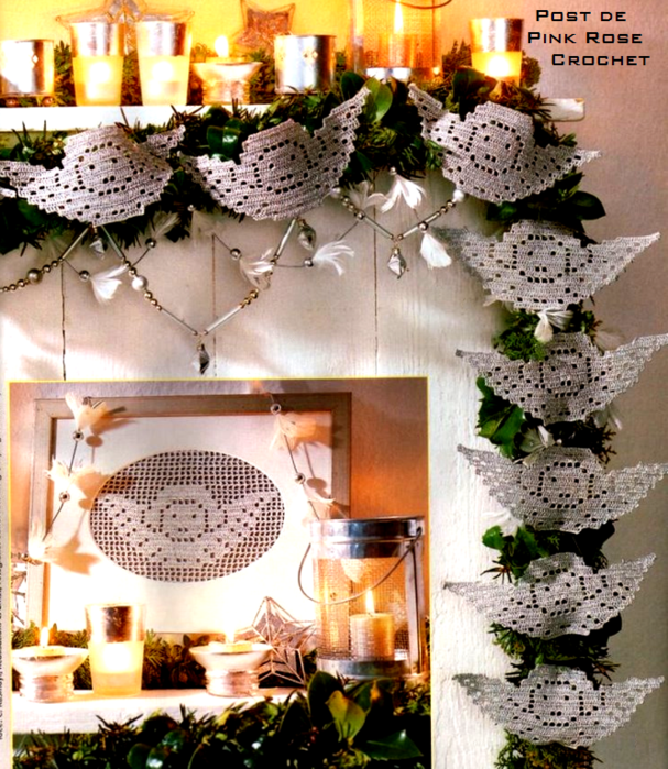 Anjos em Crochet Filet - PRoseCrochet (607x700, 835Kb)
