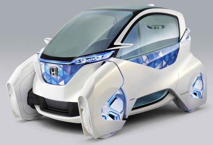 электромобиль Honda фото