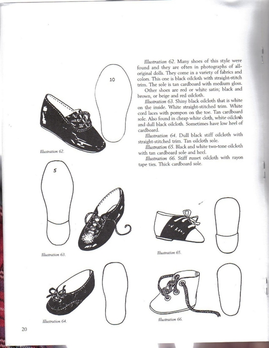 Make Doll Shoes workbook 1 020 (541x700, 153Kb)