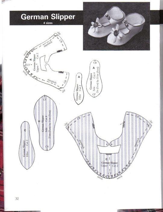 Make Doll Shoes workbook 1 032 (541x700, 157Kb)