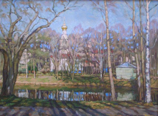 В старом парке В Григорьев (600x440, 76Kb)