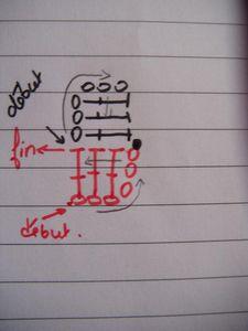 钩针基础:钩对角线(俄网大师班课程) - maomao - 我随心动