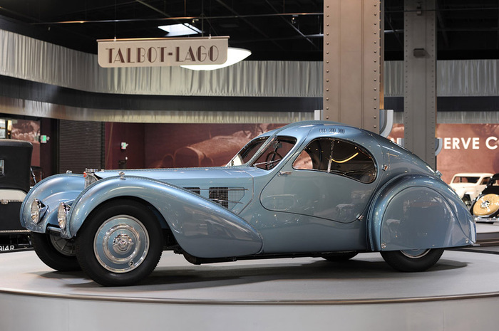 Bugatti Type 57SC Atlantic 1938