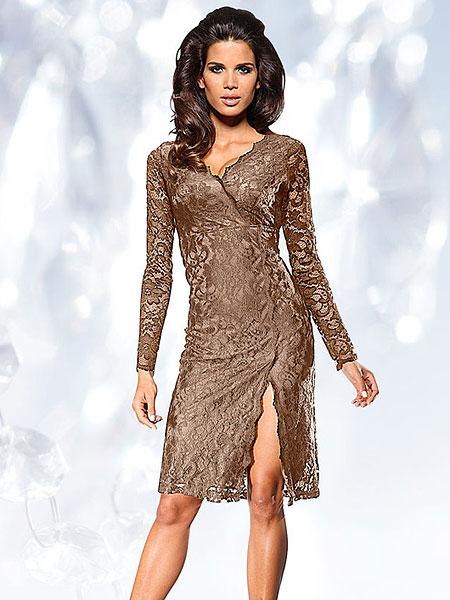 Кружевное платье в пол купить 10