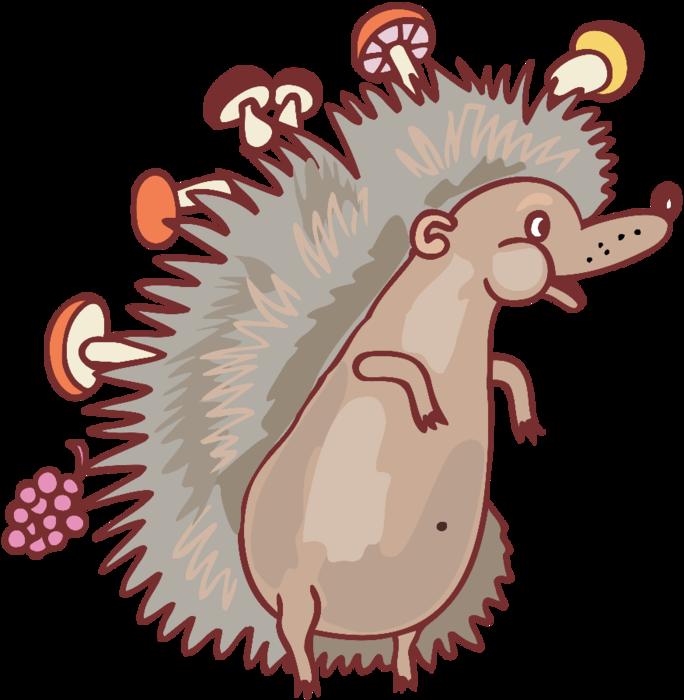 Сказочные грибы клипарт