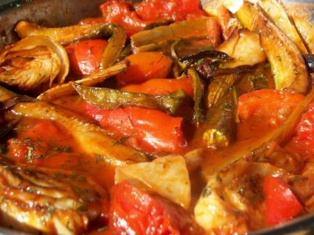 Жаркое овощами рецепт с фото