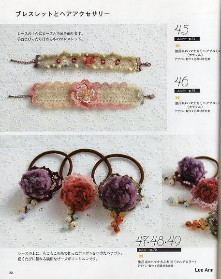 Hand Knitted Corsages 62 (457x576, 92Kb)