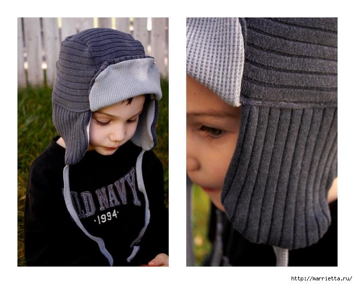 Шьем шапку мальчику своими руками 60