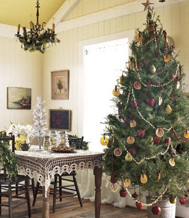 Красивая новогодняя елка   идеи по дизайну