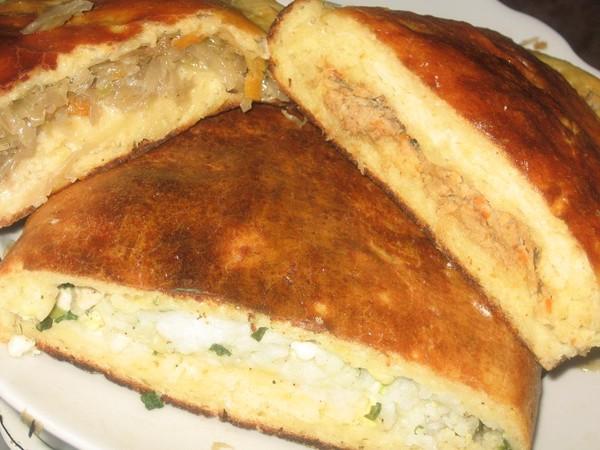 Тесто для пирог с картошкой и луком в духовке рецепт с