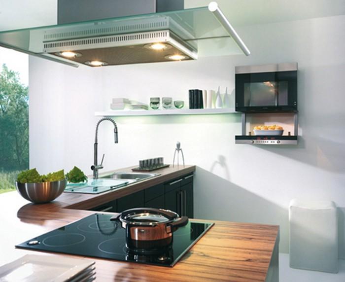 Удобная встроенная бытовая техника для кухни - варианты интерьеров