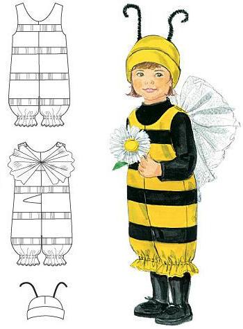 Костюмы пчелы своими руками